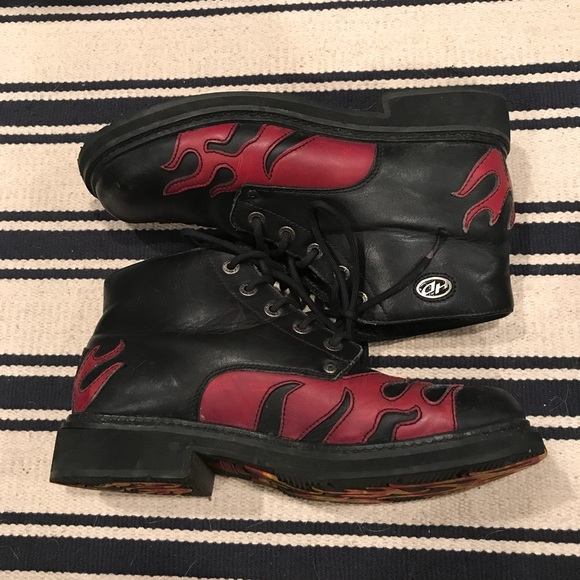 Mens Harley Davidson Lace Up Ankle Boots /'Maine/'